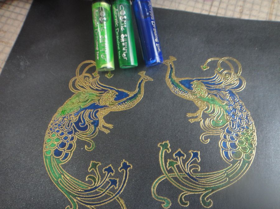 Cosmic Shimmer Ink Resist Lightening Solution