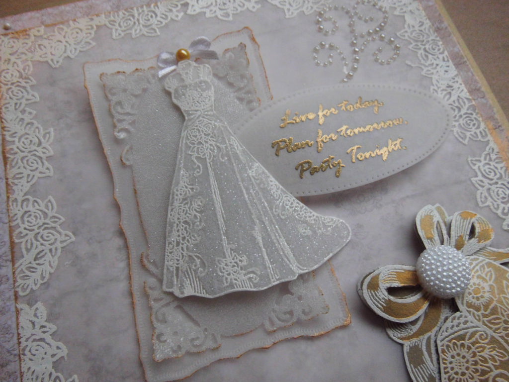 Parchment Wedding with a touch of Gold Workshop  