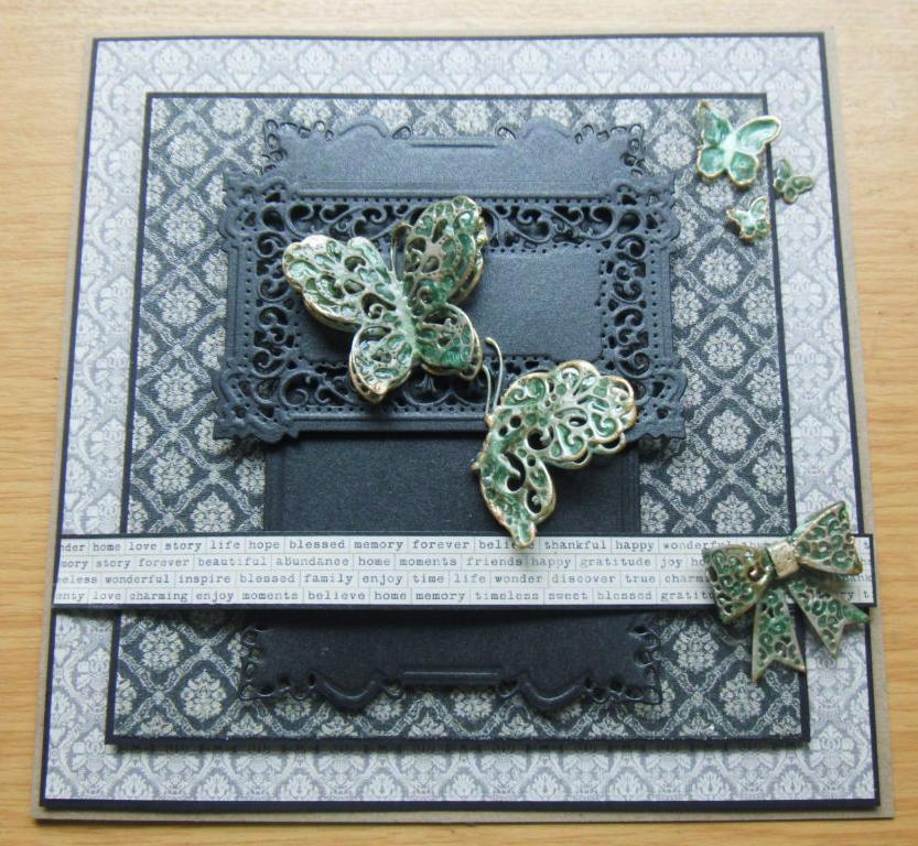 Christmas Cards Using Craft Dies