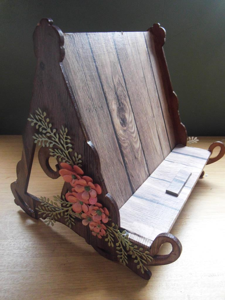how to make a book stand