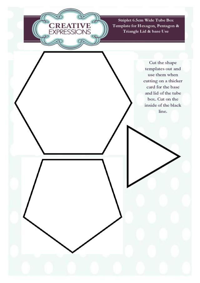 Sue Wilson Delicate Lattice Frame Tube Gift Box Templates-page-001